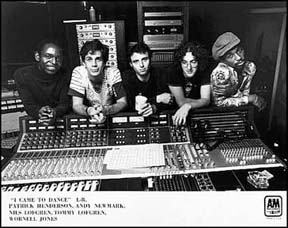 Nils Recording Session