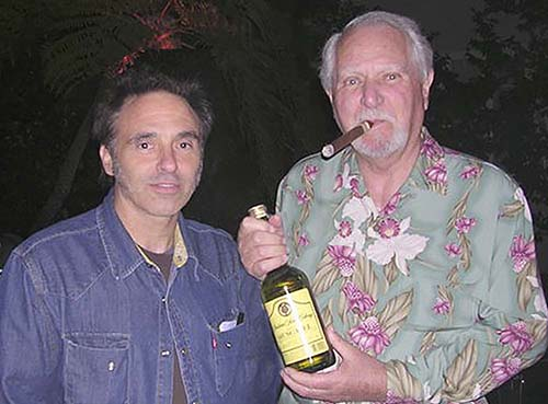Nils Lofgren and Clive Cussler