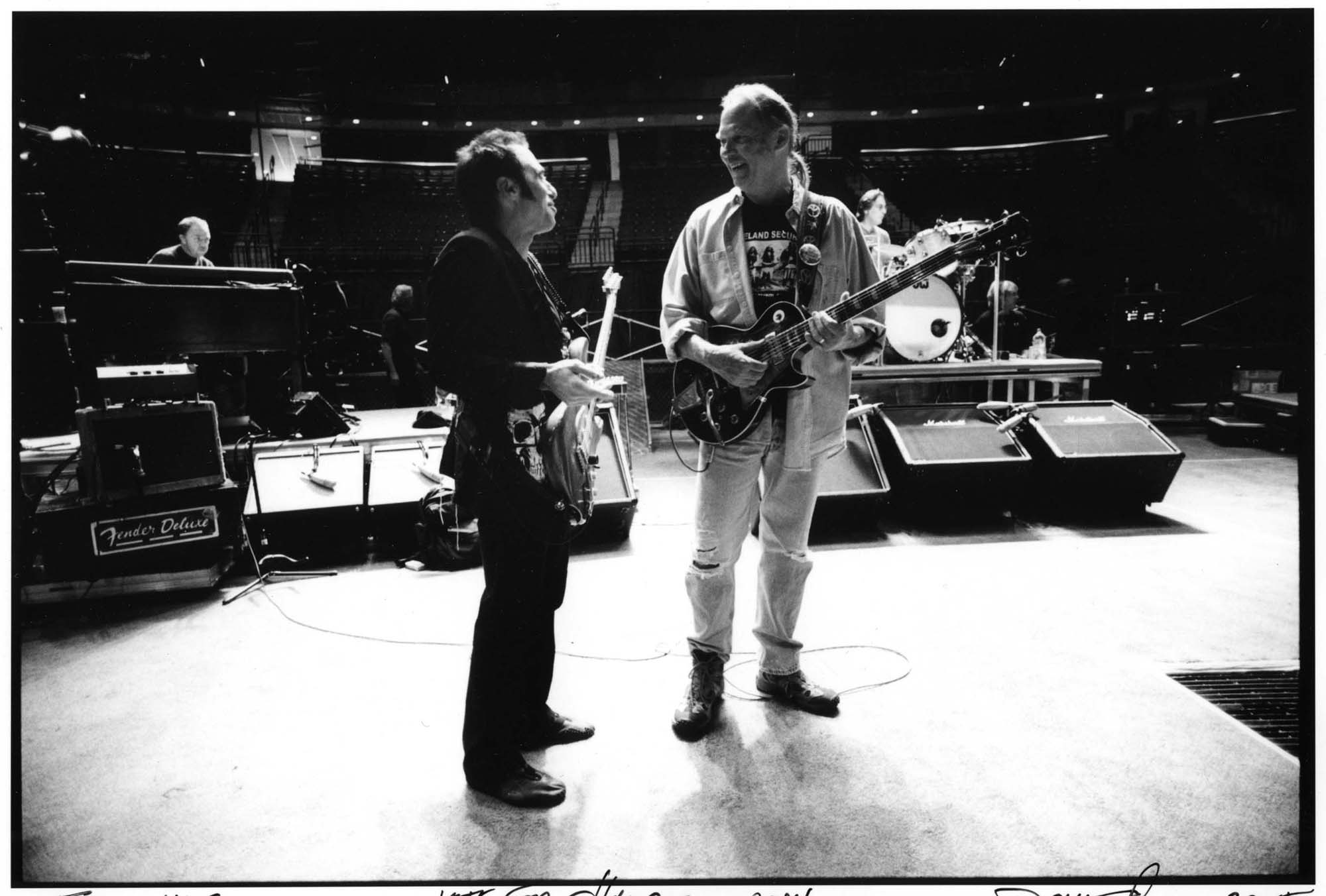 Nils and Neil Young