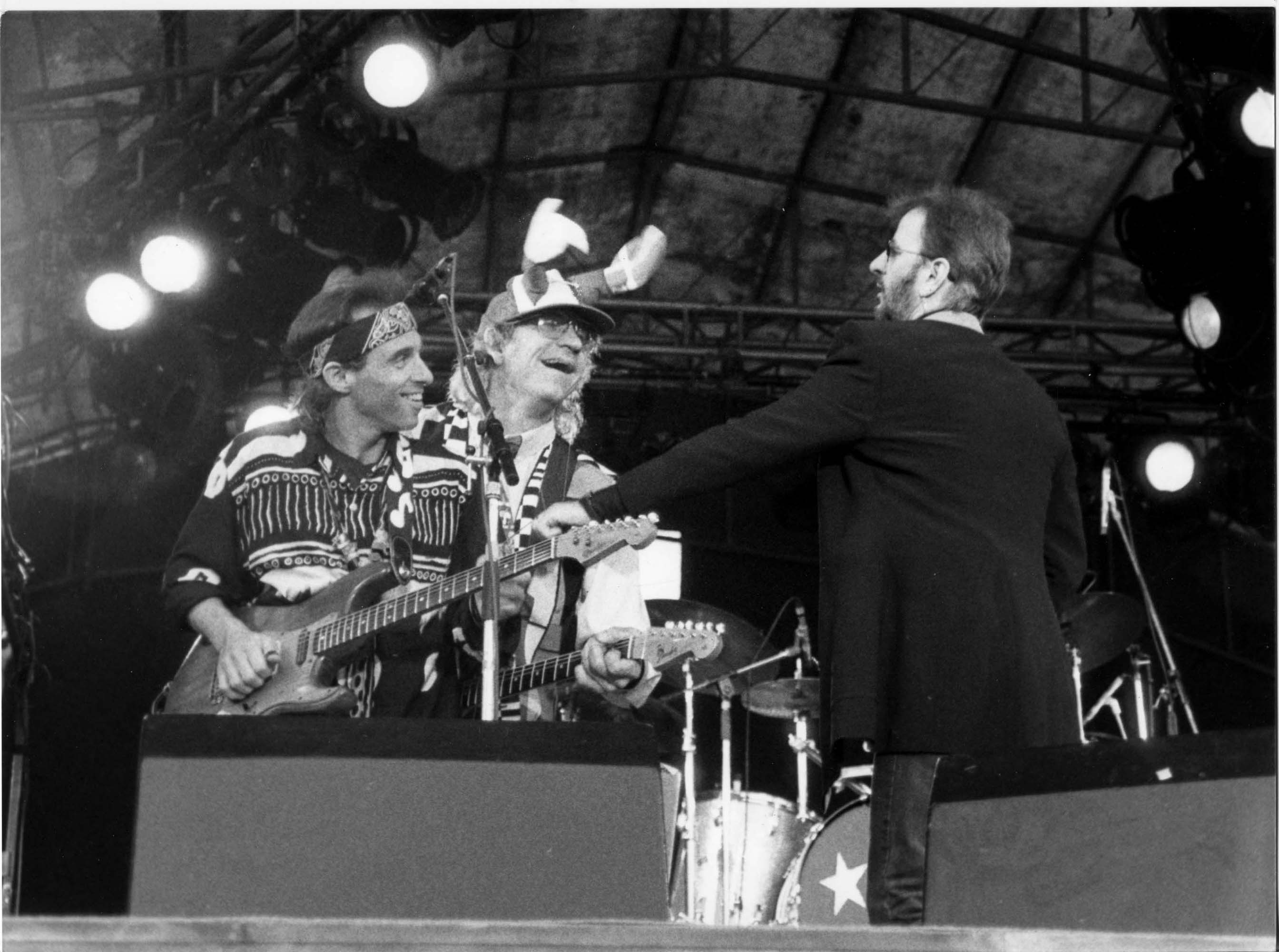 Nils, Ringo, Joe Walsh