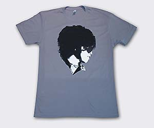 Mens Face The Music Tee Gray