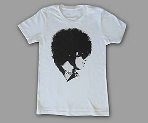 Face The Music Womens White Tee