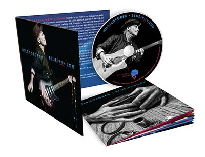 Nils Lofgren Blue With Lou CD Package