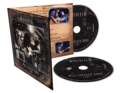 Nils Lofgren Weathered CD Package